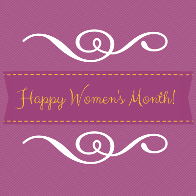 HappyWomensMonth